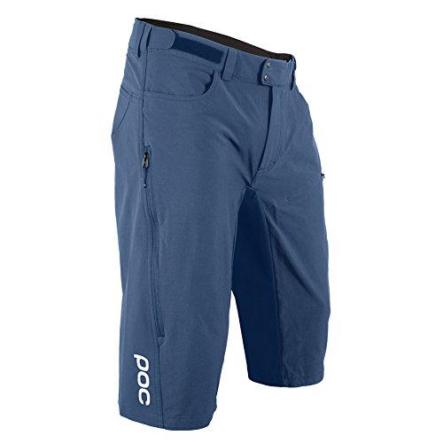 POC Resistance Enduro MID Pantalones Ciclismo, Hombre, Azul (Cubane Blue), XL