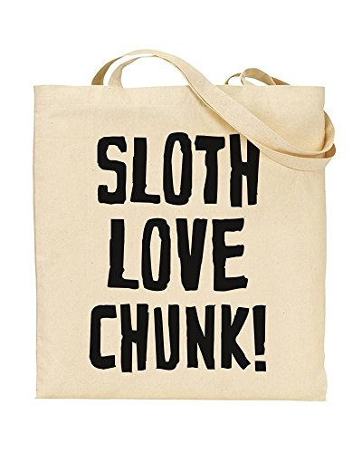Sloth Loves Chunk Reusable Tote Bag