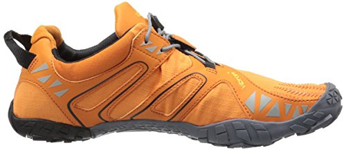 Vibram Five Fingers V, Chaussures de Trail Homme Orange (Orange/grey/black)
