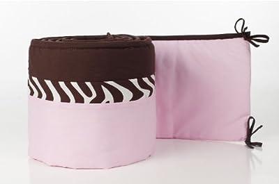 Pam Grace Creaciones BP-ZARA Zara Zebra tope del pesebre - rosa, marr-n from Pam Grace Creations