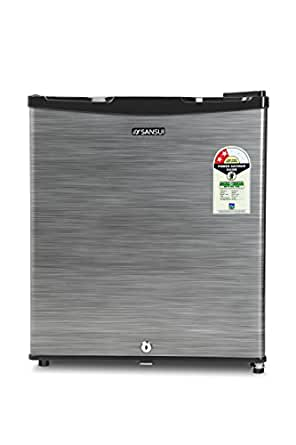 Sansui 50 L 2 Star Direct Cool Single Door Refrigerator(SC062PSH, Silver Hairline)