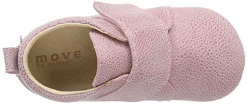MOVE Prewalker Hausschuhe Kinder, Chaussons courts, non doublées fille Rose - Pink (Wild Rose509)