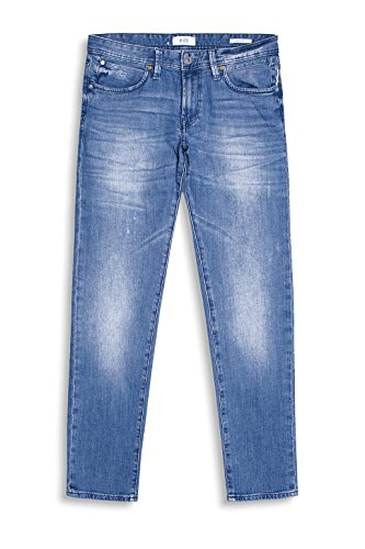 edc by Esprit 047cc2b004, Jeans Homme Bleu (Blue Medium Wash)