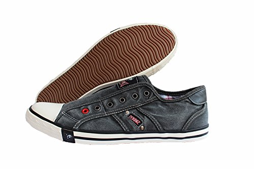 Tysonz American Chillers Sommer-Sneakers, ohne Schnürsenkel (46)