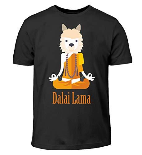 Dalai Llama - Kinder T-Shirt -12/14 (152/164)-Schwarz