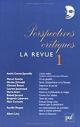 Perspectives critiques, La Revue, N° 1 :