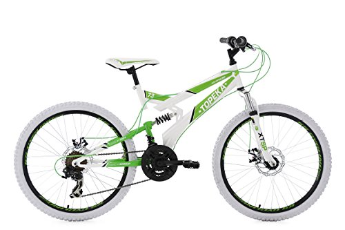 KS Cycling Kinder Mountainbike MTB Fully 24