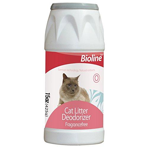 Katzenstreu Desodorierenden Pulver (425g starker Desodorierenden Power hält Ihre Katzen Streu riecht länger frisch (Deodorant-pulver)