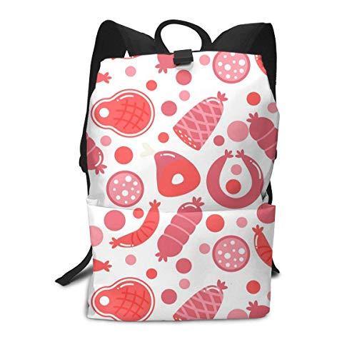 Lächeln süß süß Obst Essen Rucksack Mitte für Kinder Jugendliche Schule Reisetasche