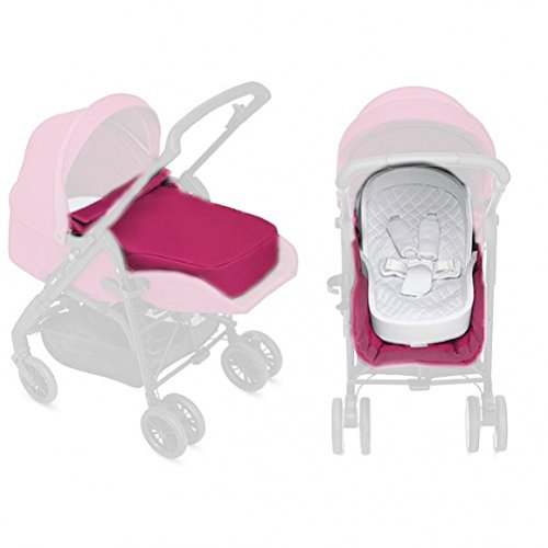 Inglesina Zippy Light - Kit da passeggino per neonati, colore: rosa