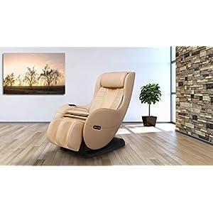 Welcon Massagesessel Easyrelaxx Beige Mit Wrmefunktion Massagestuhl Mit Neigungsverstellung Elektrisch L Shape Automatikprogramme Knetmassage Klopfmassage Rollenmassage Airbagmassage