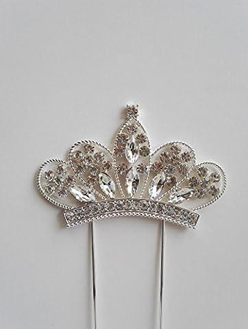 Large diamante and Gems Crown/Tiara BOLLYWOOD/cake decoration/Sparkly Princess beautiful decoration