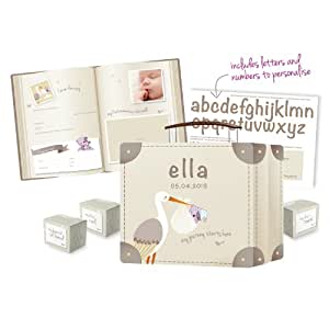 Clevamama ClevaMemories Keepsake Suitcase and Baby Record Book