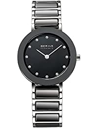 BERING Time Damen-Armbanduhr Slim Ceramic 11429-742