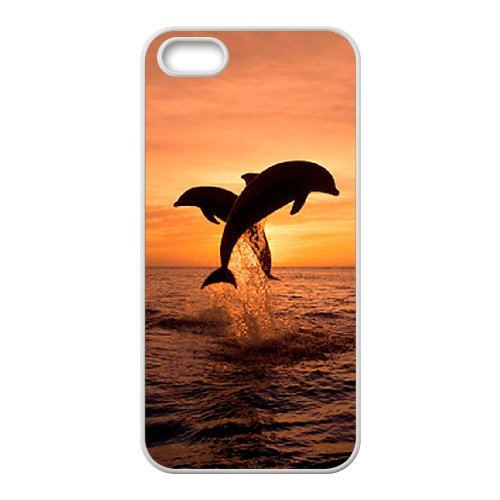 LP-LG Phone Case Of Dolphin For iPhone 5,5S [Pattern-6] Pattern-6