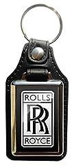 Idea Regalo - Portachiavi in eco pelle rolls royce