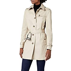 Tommy Hilfiger Damen Mantel Heritage Single Breasted Trench