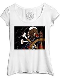Fabulous T-Shirt Femme Col Rond Echancré albator Capitaine de l Espace  Anime Annee 80 27c1f60e331c