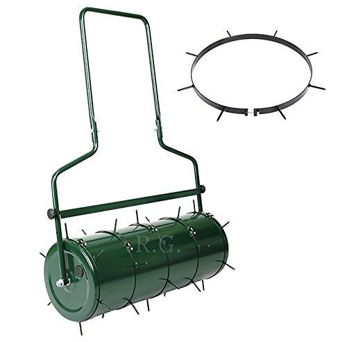 Rasen - Aerator SET für Walze Rasenlüfter Gartenwalze