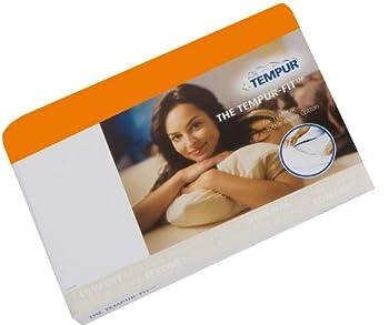 Tempur drap housse en jersey pour coussin orange 50 x 60 cm, comfort, cloud, sensation promessa