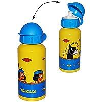 Spiderman Alu Trinkflasche 400ml Rot Blau Isolierflasche Teeflasche Marvel