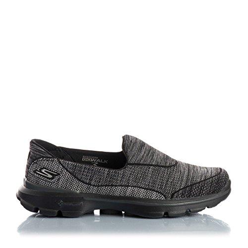 Skechers Go Walk 3-Super Sock 3, Chaussures de Tennis Femme
