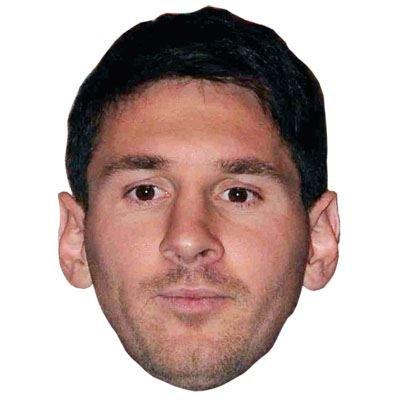 Lionel Messi Celebrity Maske, Gesicht und (Kostüme 21 National)