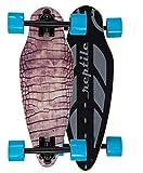 boo/G Mini Cruiser Skateboard für Kinder und Erwachsene. Die Kurven Stars mit Breiten Longboard Achsen (7 Zoll)....