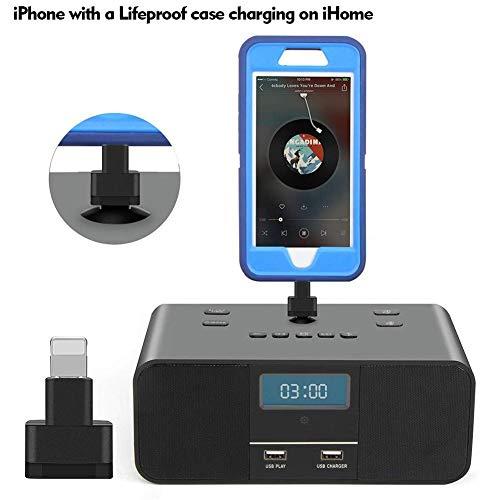Blue-Yan 8 Pin Extender Dock - für Otterbox Case Lifeproof Case Docks Extender-Adapter für Apple iPhone 8 8 Plus X XS XR SE 6 6S 7 7S 5 5S 5C (5c Iphone Für Dock Adapter)