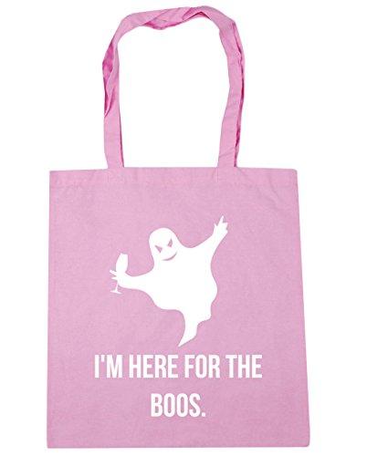 hippowarehouse Ich bin hier, für das Boos. Tote Einkaufstasche Gym Beach Bag 42cm 3838, 10Liter Gr. Einheitsgröße, Classic Pink
