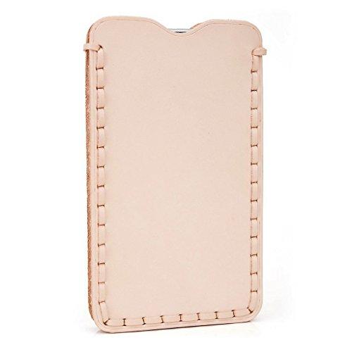 Kroo Étui ultra fin en cuir véritable pour téléphone portable Karbonn Titanium Octane Plus/Sparkle V Marron - peau Marron - peau