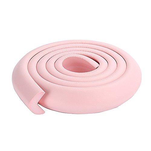 2x2 m / 13ft dauerhaft Bettkantenschutz wash sink Eckenschutz für Glas Marmor Edelstahloberflächen rosa
