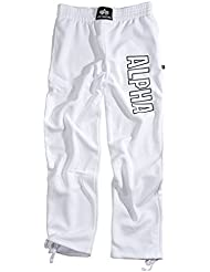 """Alpha Industries """"Track Pant"""" - white"""
