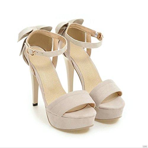 Sproud 2017 Die Neue Koreanische Damen High Heels Sandaletten Mädchen Und Schmetterlinge Modelle Sexy Schuhe 39 B