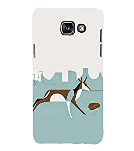EPICCASE Graffiti deer Mobile Back Case Cover For Samsung Galaxy A7 (Designer Case)