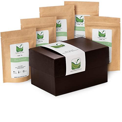 Especias orgánicas caja regalo - Ideal para cocineros profesionales o aficionados - Hierbas aromáticas culinarias - Cestas regalo de especias 20g Orégano 30g Tomillo 30g Romero 7 Laurel 20g Sabrosa