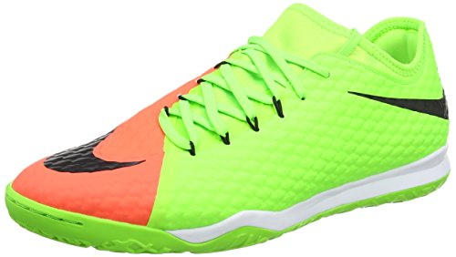 Nike Hypervenomx Finale Ii Ic, Scarpe da Calcio Uomo, Grün, Verde (Electric Green/black-hyper Orange-bright M), 43 EU