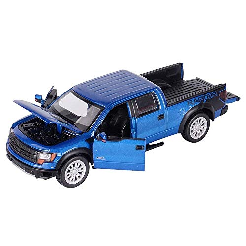 AIOJY Variable Farbe Diecast Vehicle (Maßstab 1:32) von Mais Ford Raptor Pickup Truck Spielzeug Aiya New Classic Technik Pickup Car Fit Legoings Technik Modell Bausteine   Set Kid Geschenk Special Edi
