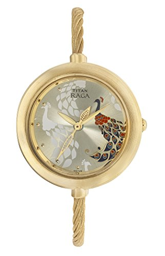 9. Titan Raga Analog Mother of Pearl Dial Watch