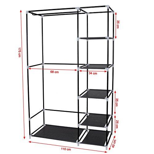 garderobenschrank zum h ngen bestseller shop f r m bel und einrichtungen. Black Bedroom Furniture Sets. Home Design Ideas