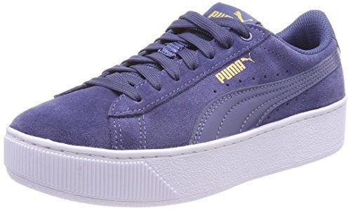 Puma Damen Vikky Platform Sneaker, Blau (Blue Indigo), 38 EU (Womens Blue Basketball)