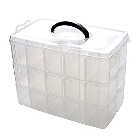 Ardisle Display Case for Toy Cars Storage Box Divider Organizer