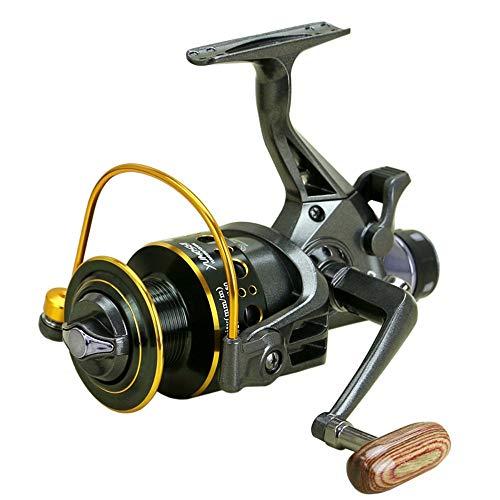 YHONG-FishingReel Freilaufrolle spinnrute angelrolle,10 + 1BB Kugellager Salzwasser Links/rechts Fisch Süßwasserfischen Spinnrolle MG3000-6000 -