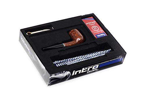 Dr. Perl Junior Intro Vauen Pfeife Starter Kit gerade Briar Tamper von Staubbeutel Filter -