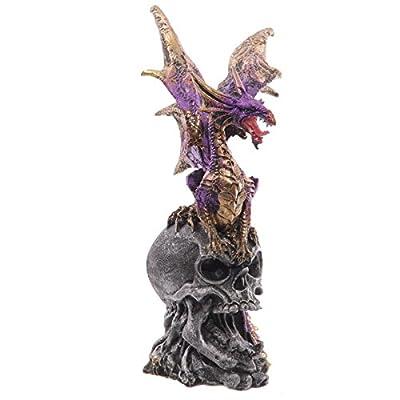 Skull Destroyer Dark Legends Dragon Figurine