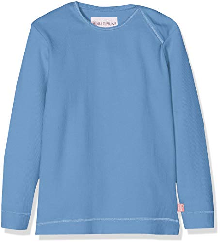 Phister & Philina Baby Girls' Edith Base Langarmshirt Longsleeve T Shirt, Blau (Provincial Blue Pro), 18 24 Months