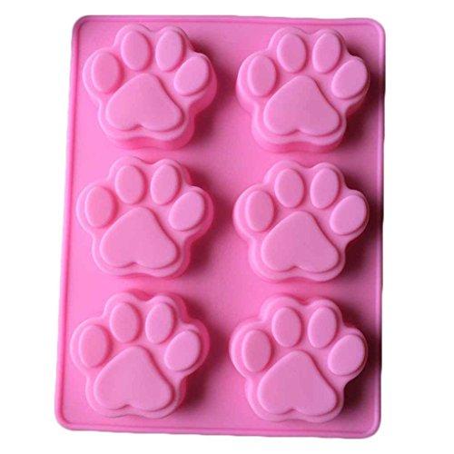 meisijia Silikonform Tier Katze Krallen Kuchen Dekorieren Schokolade Küche Kochen Kuchen Werkzeuge Lebensmittel Dessert Machen