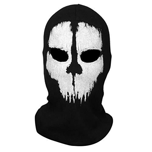 Jiobapiongxin Geist-Schädel-Vollmasken-Punisher-Masken-Skeletthüte