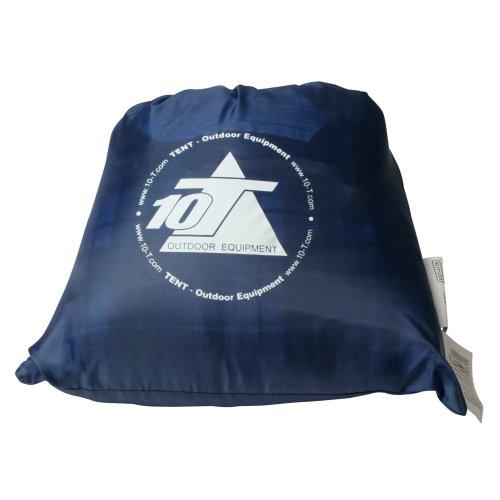 10T Camp Pillow 40x25cm Reisekissen Campingkissen Kopfkissen Schlaf-Kissen Sitzkissen mit integriertem Packbeutel zum umstülpen - 5