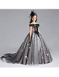 Licyen Abiti da Ragazza di Fiori Christmas Wedding Flower Girl Dress Party  Dress per Girs Regalo b364783825f
